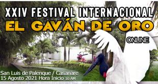 XXIV FESTIVAL INTERNACIONAL EL GAVAN DE ORO